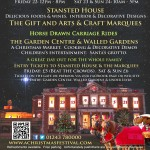 3 Sussex Writers at A Christmas Festival Poster 2013
