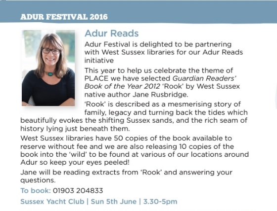 Adur Reads Event